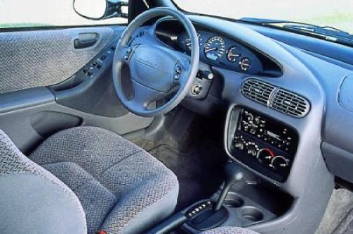 1996 Breeze interior