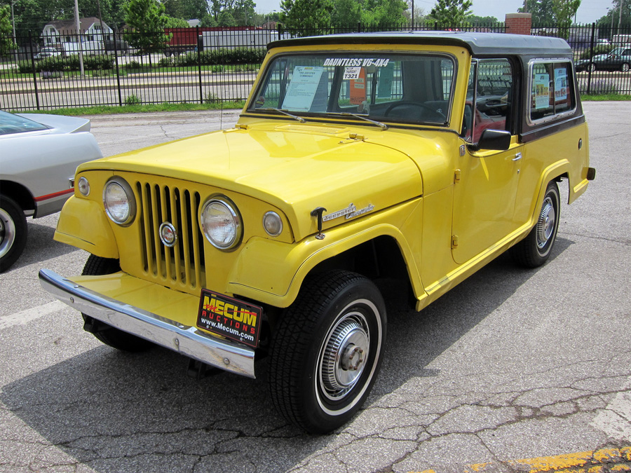 auction classic capsule 1969 kaiser jeepster commando \u2013 it\u0027s1969 Kaiser Jeep Jeepster Commando #6
