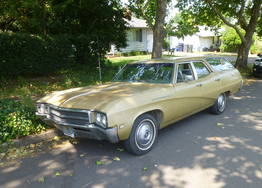 Curbside Classic: 1969 Buick Special DeLuxe Wagon – Not So Very ...
