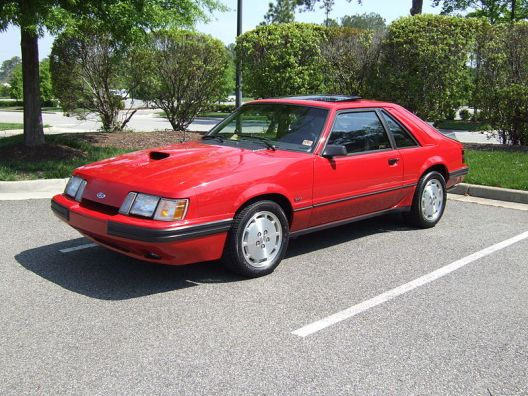 Mustang SVO 1986