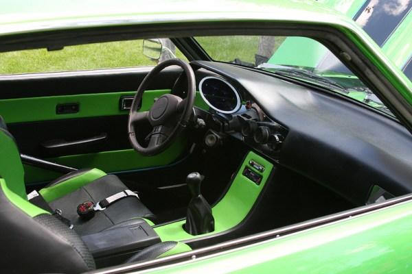 1973 Toyota Corona Mark II interior