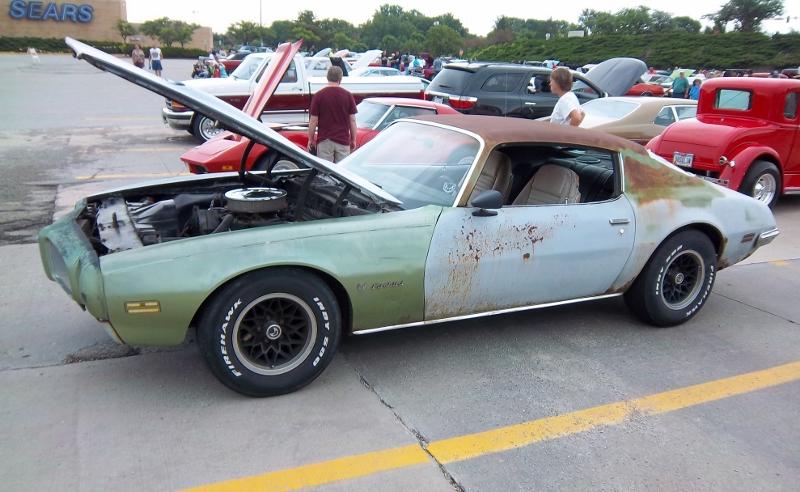 1970-73 Pontiac Firebird Correct Hood Adjustment Bumpers Pair