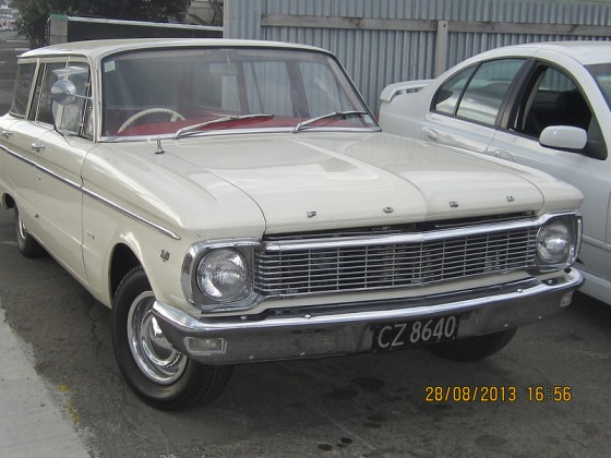 Ford AUS Falcon XP fr