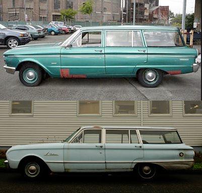 Ford AUS Falcon XP wagon rotate-vert