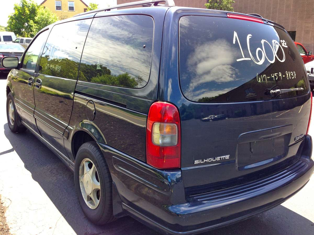 """All Chevy 2008 chevy venture van : Curbside Classic: 1999 Oldsmobile Silhouette: Not """"The Chrysler Of ..."""