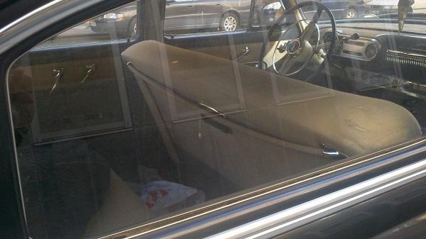 6 Rear seat