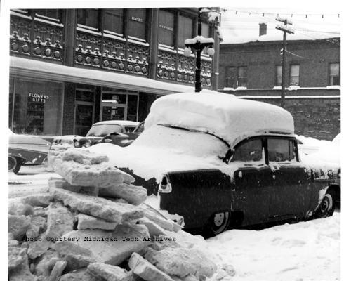 Chevrolet 1955 snow