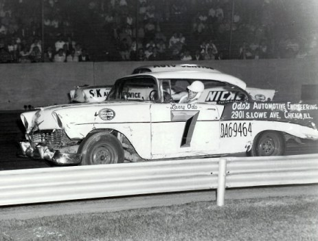 Chevrolet 1956 stock car racer