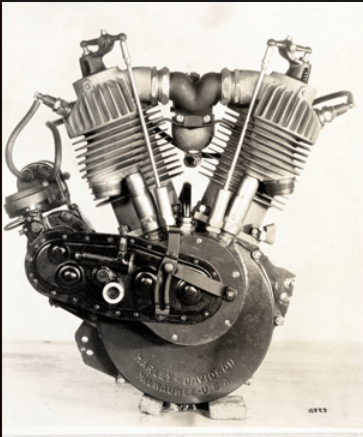 HD 1910 F head twin