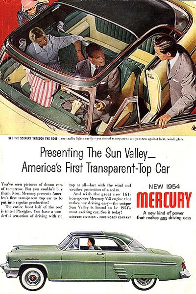 Mercury 1954 SV ad