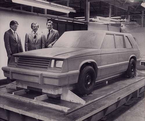 checker Gaslva II prototype 1981