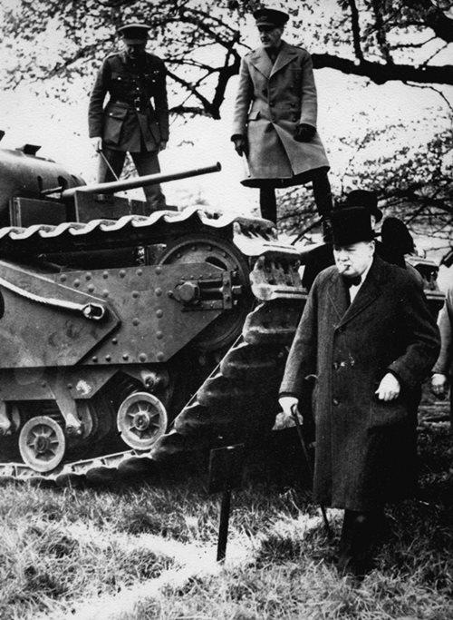 churchill tank 500