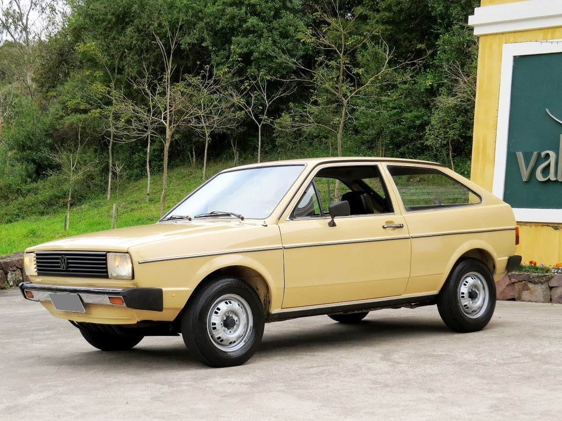 1981 brazilian vw gol a shortened audi 80 with an aircooled beetle engine in front. Black Bedroom Furniture Sets. Home Design Ideas