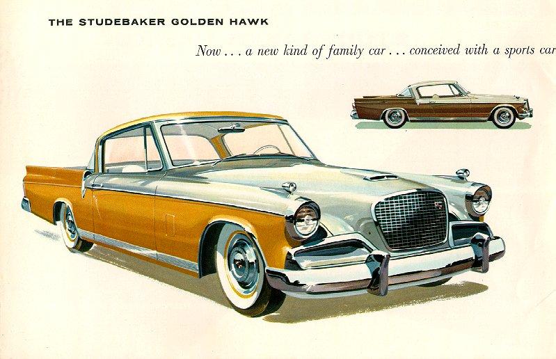 METAL LICENSE PLATE 1960 60 STUDEBAKER GOLDEN HAWK LARK CHAMPION PRESIDENT 289