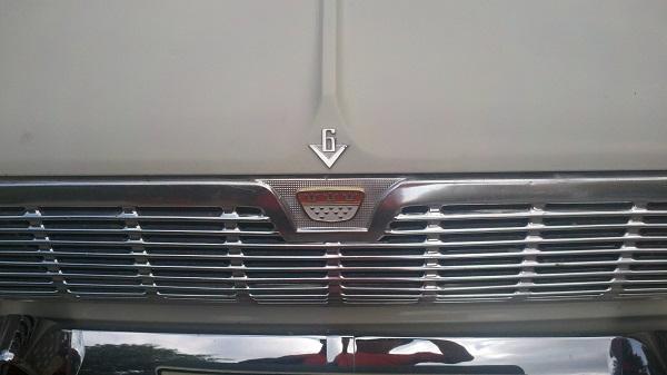8 Taunus V6 Badge