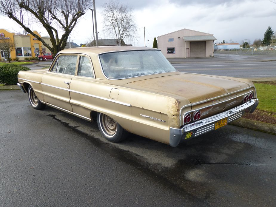 Curbside Classic: 1964 Chevrolet Bel Air Six – Try A Little Tenderness