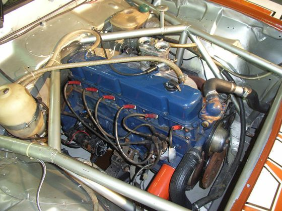 Chevrolet Opala 250 S engine