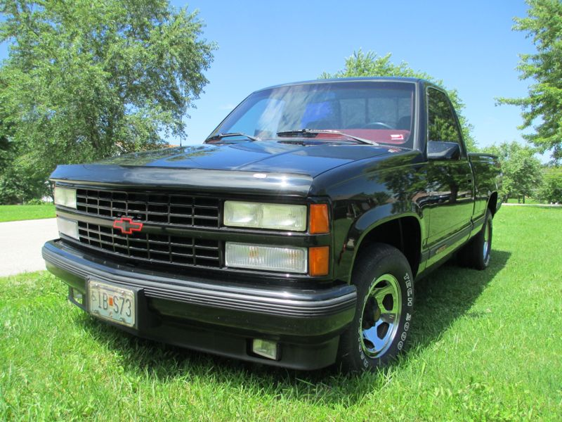 Roadside Classic 1990 Chevrolet 454 Ss Overkill Is A