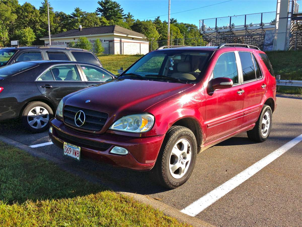 Automotive History Mercedes W163 1998 2005 M Class Conceived In Benz Ml350 Parts A More Significant Update Occurred 2002 Which Included Over 1100 New To The This Overhaul Further Exterior And Interior