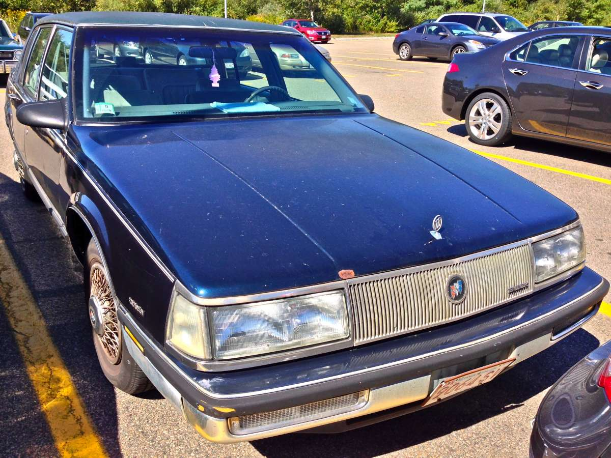 curbside classic 1989 buick electra limited limited s the right word curbside classic curbside classic 1989 buick electra