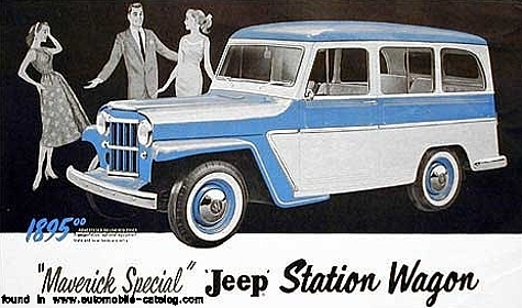 Jeep 1955 Maverick wagon