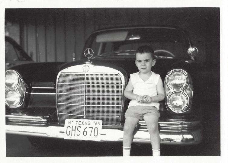 CC Kids 1965 Mercedes 220S