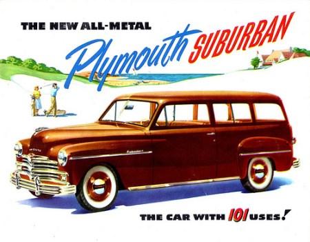 Plymouth 1949 Suburban