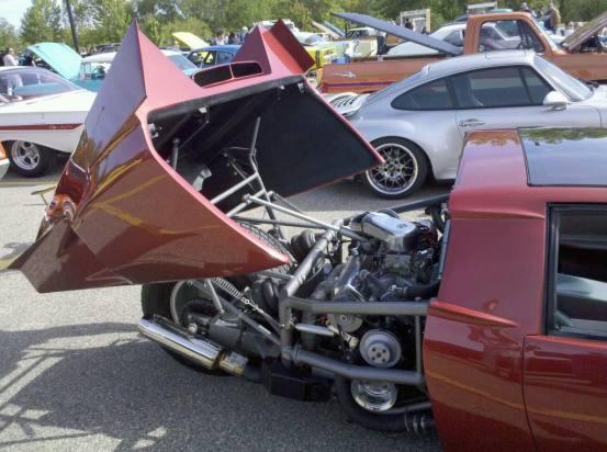 Pontiac Fiero trike rev 5