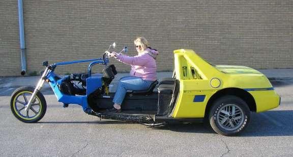 Pontiac Fiero trike russia