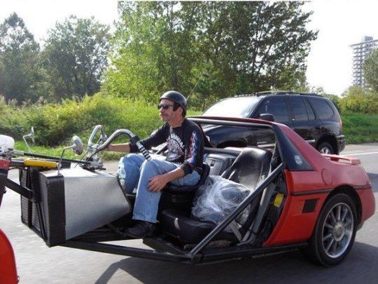 Pontiac Fiero trike