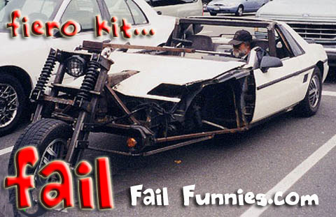 Pontiac fiero -kit-fail