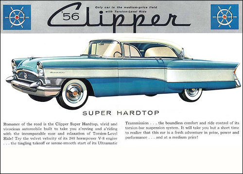 packard 1956 clipper coupe