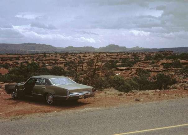 parked in the desert lr