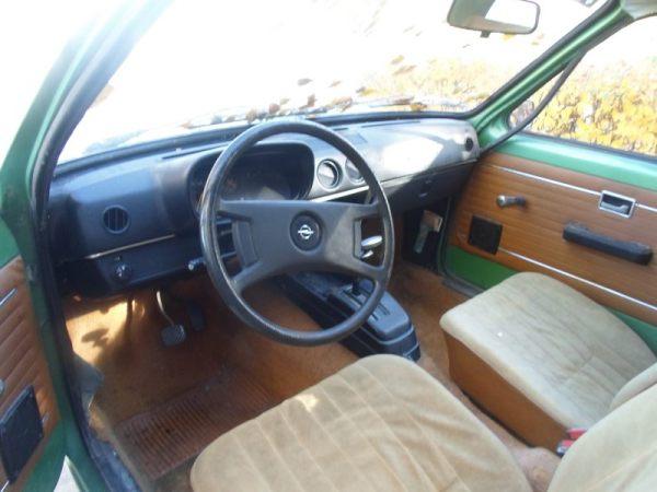 1978 Opel Kadett interior