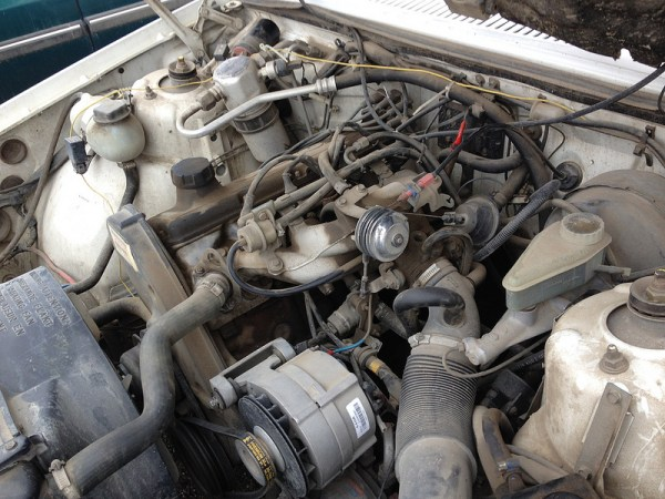 1987 Volvo 740 engine