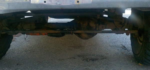 3 Front axle