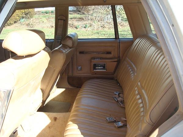 4 Rear seat