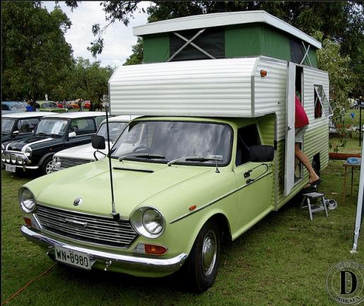 Austin 1800 ute camper by Dodgsun
