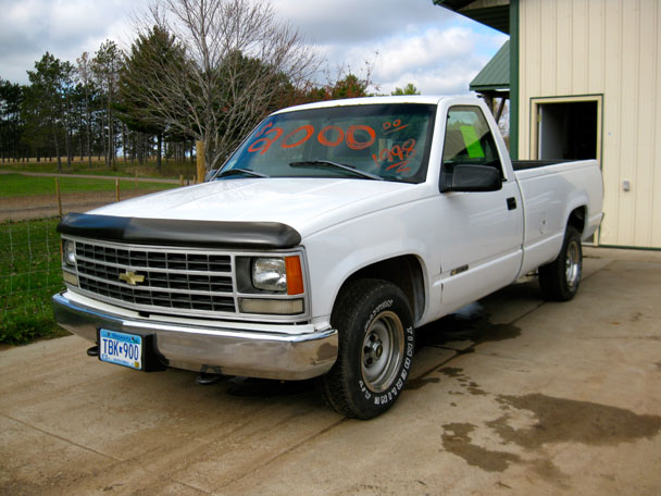 COAL: 1998 Chevy C1500 – Saying Goodbye
