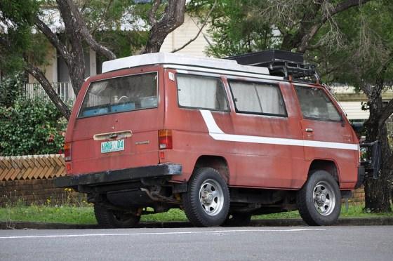Mitsubishi van rq