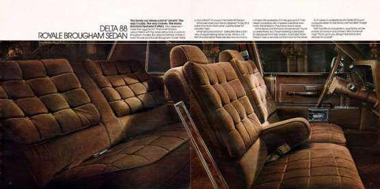 Olds 1983 interior