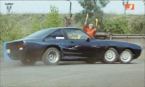 Opel manta-3achser-drift