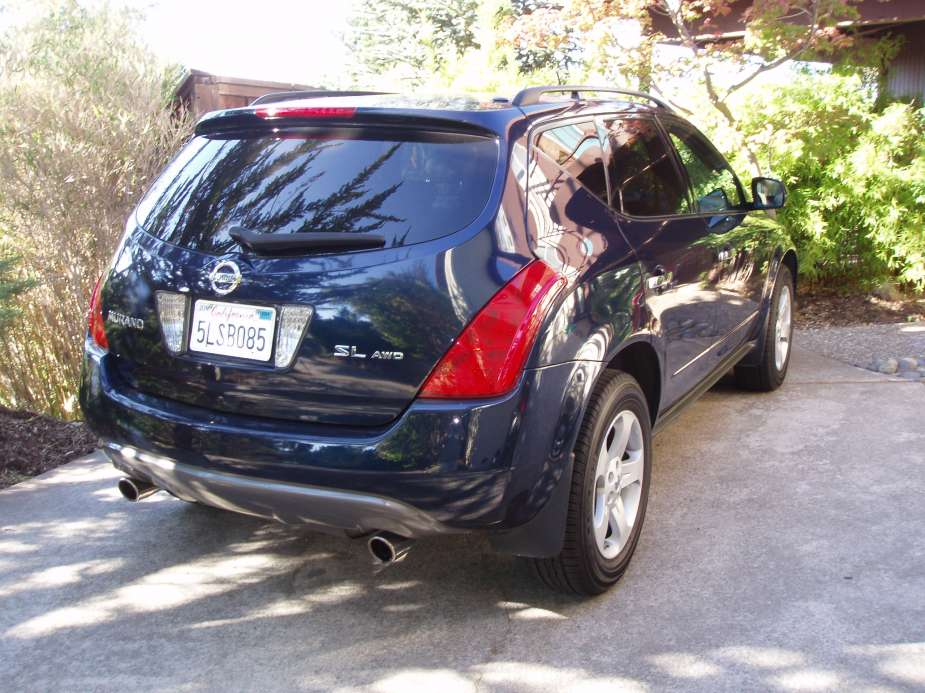 coal 2004 nissan murano sl awd the trophy wife of cars. Black Bedroom Furniture Sets. Home Design Ideas