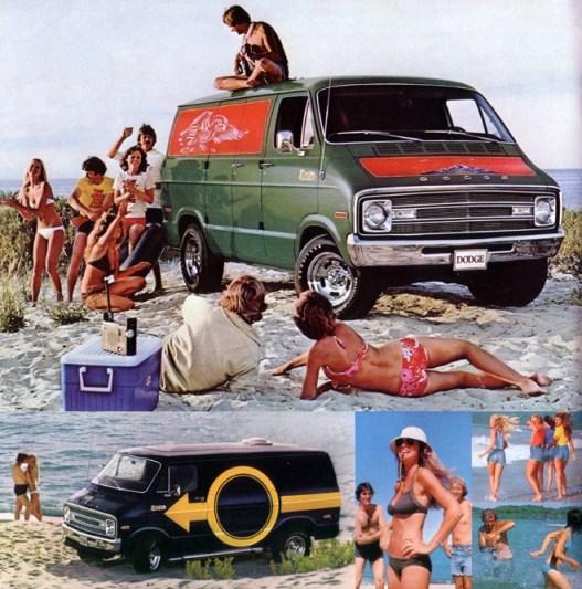 Van Dodge 1970s-custom-van-ad