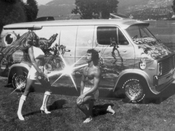 Van Dorothy Straten Miss world of Wheels 1978