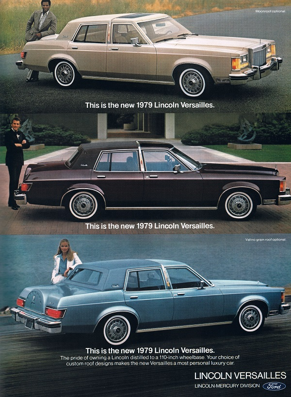 Vintage Ad Lincoln Versailles The Ugly American