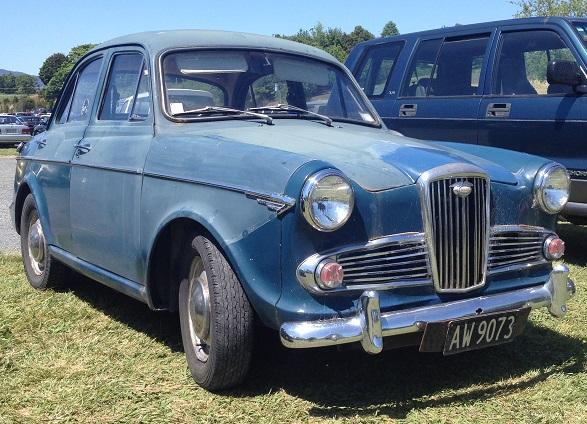 1. 1963 Wolseley 1500