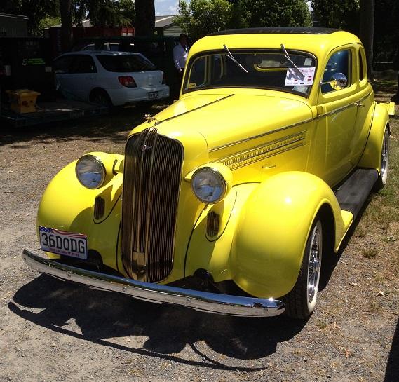 7. 1936 Dodge