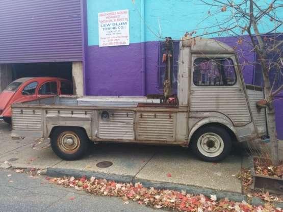Citroen HY truck side