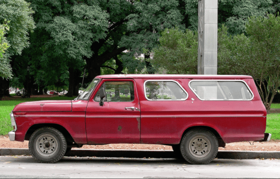 Ford Argentina  truck side